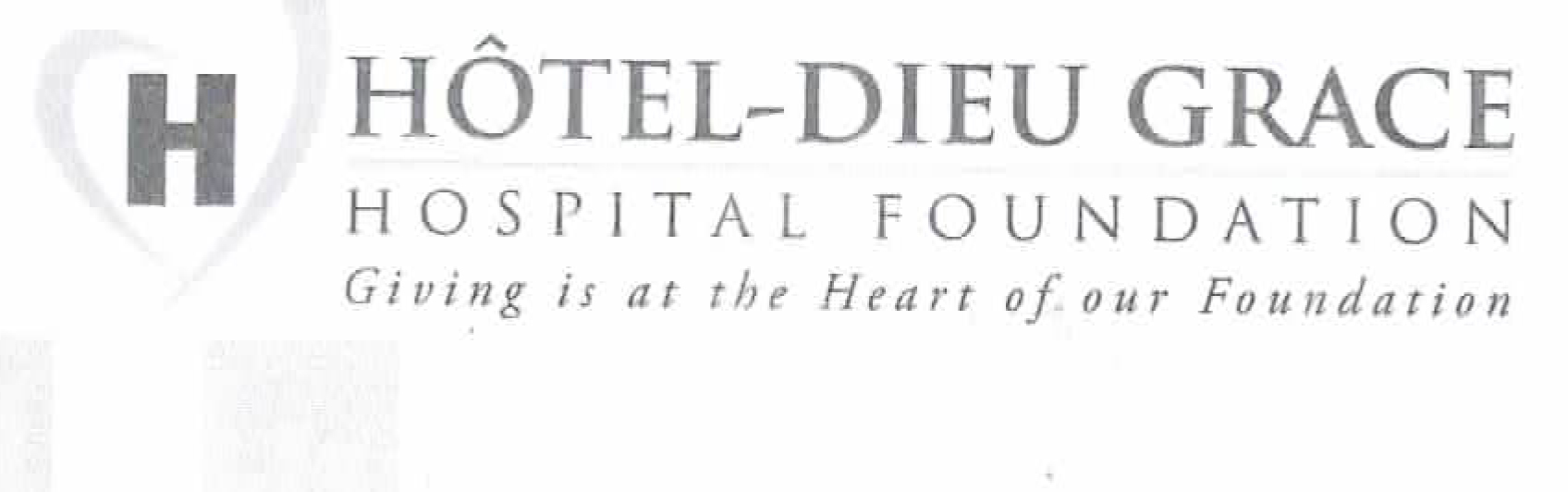 Hotel-Dieu Grace Hospital Foundation Heart & Soul Gala Donation