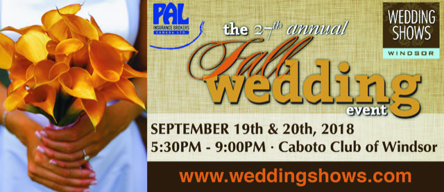 Join Us at the 27th Annual Fall Wedding Event