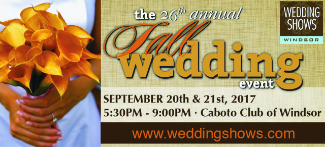 Visit Us at the 26th Annual Fall Wedding Event
